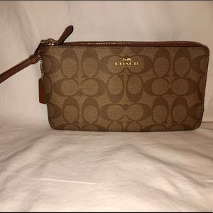 Coach double sided wallet